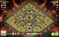Clash of Clans TH10 vs TH10 Clan War 3 Star Attack Strategy Golem, Wizard, Valkyrie (GoWiVa)