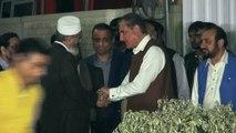 PTI Shah Mehmood Qureshi meeting with JI Amir Siraj Ul haq in Lahore