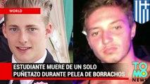 Sujeto mata de un solo puñetazo a estudiante británico durante una pelea de borrachos