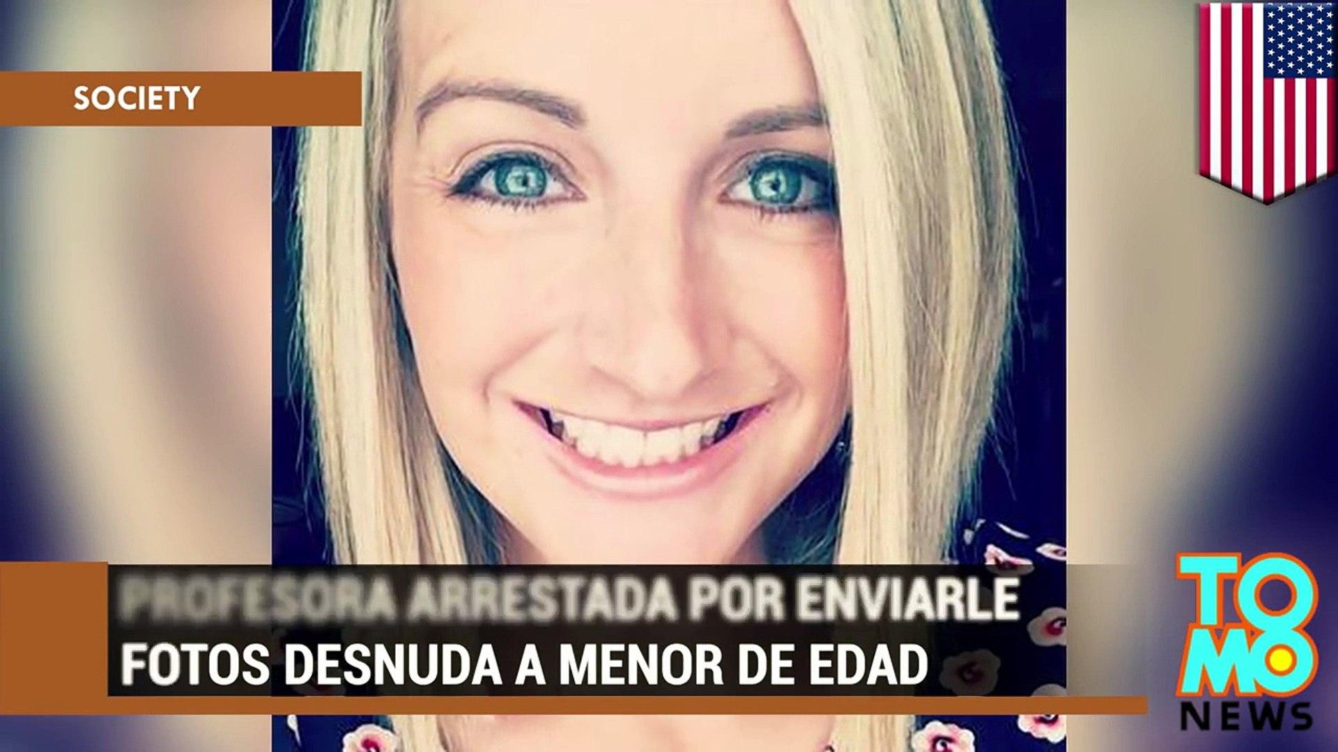 Profesora Arrestada Por Enviarle Fotos De Ella Desnuda A Un Menor De Edad