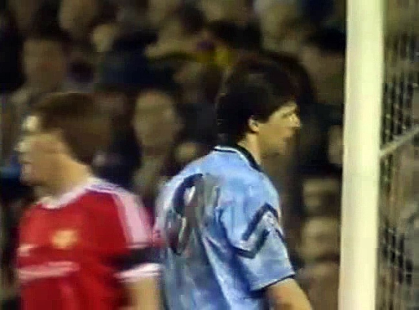 Manchester United - Manchester City 07-04-1992 Division One