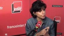 """Rachida Dati et  la réforme judiciaire : """"Nicole Belloubet dit j'ai un texte mais ce qui est dedans je vais pas le faire""""."""