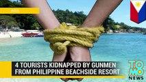 Tres extranjeros son secuestrados por hombres armados en isla turística en Filipinas