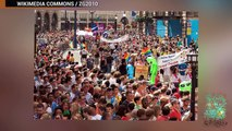 CNN confunde consolador con una bandera de ISIS durante marcha del orgullo gay en Londres