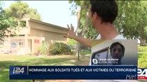 Hommage aux soldats tués et aux victimes du terrorisme : témoignage de Jehan Berman