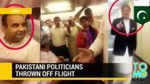 Vuelo retrasado: Políticos paquistaníes son expulsados de un avión por enojados pasajeros