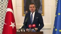 AB Bakanı Çelik: 'Koskoca Avrupa Birliği, Güney Kıbrıs'ın adeta esiri haline gelmiş durumdadır' - ANKARA