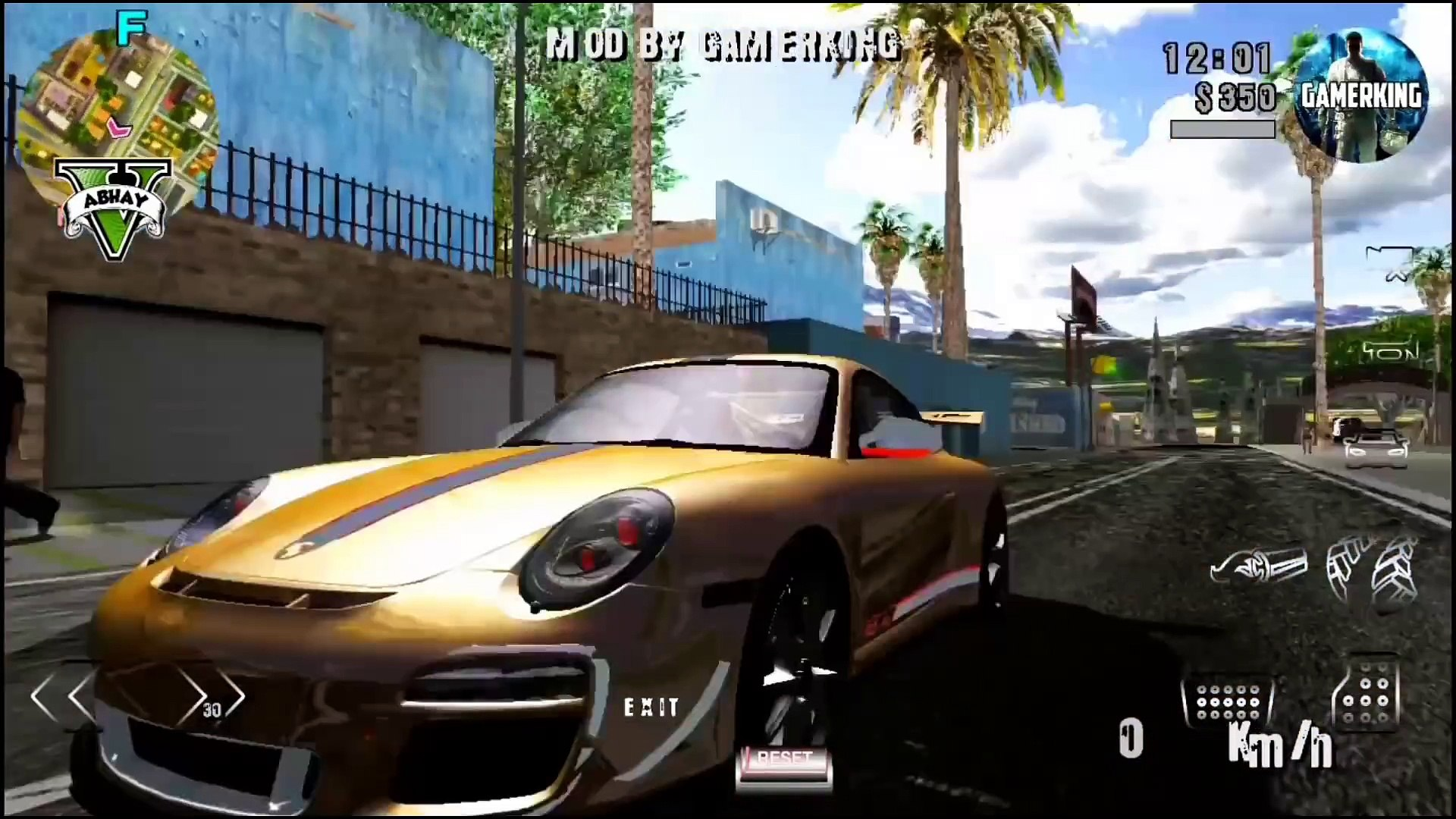 GTA 5 Premium Ultra REALISTIC 2K18 Lite MOD Apk+Data On Android