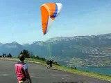 Aeroslide vol parapente Annecy biplace
