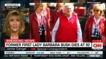 BREAKING NEWS: Former First Lady Barbara Bush dies at 92. #Breaking #FLBarbaraBush #BarbaraBush