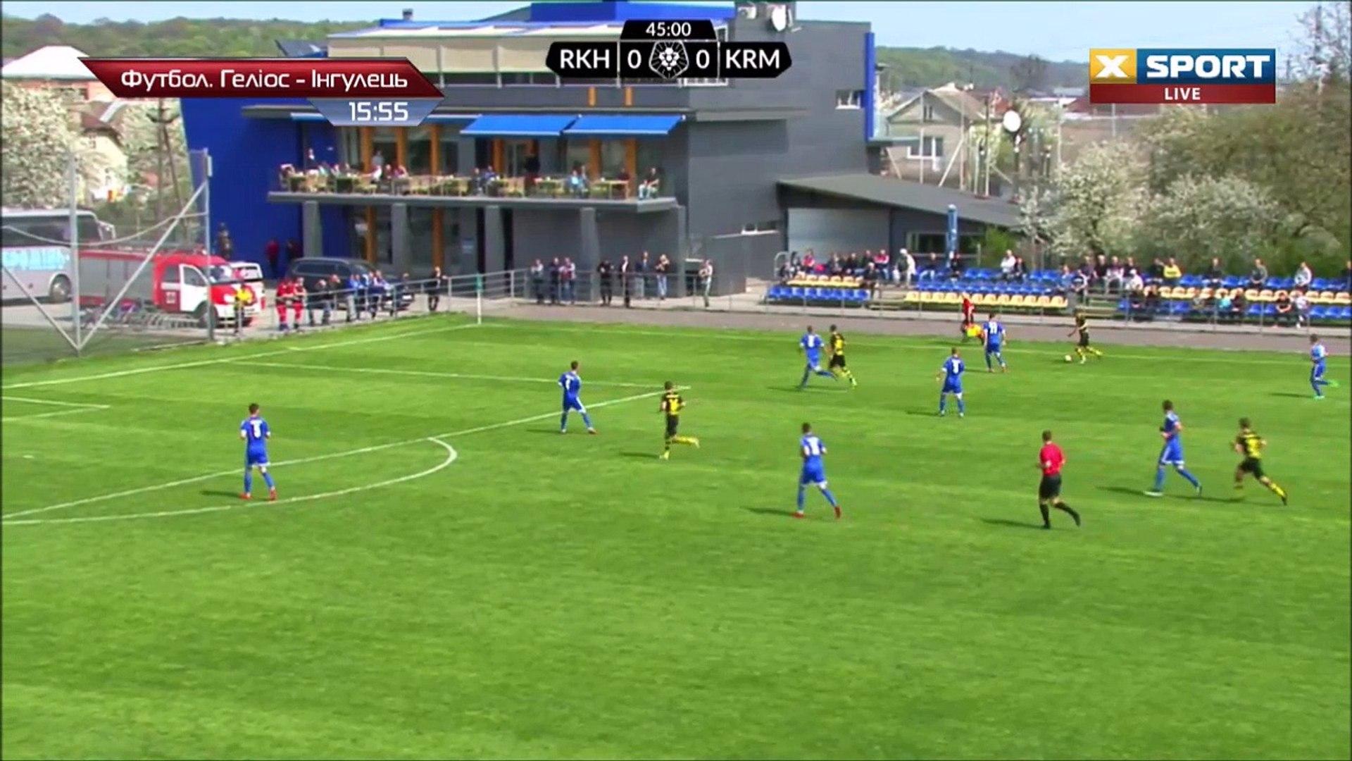 1-0 Borys Baranets Goal Ukraine  Persha Liga - 18.04.2018 Rukh Vynnyky 1-0 Kremen Kremenchuk