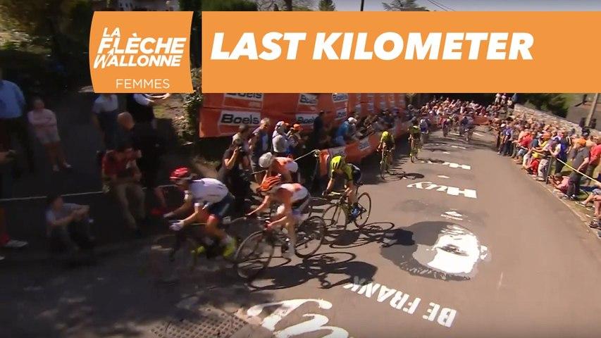 Last Kilometer  - La Flèche Wallonne Femme 2018