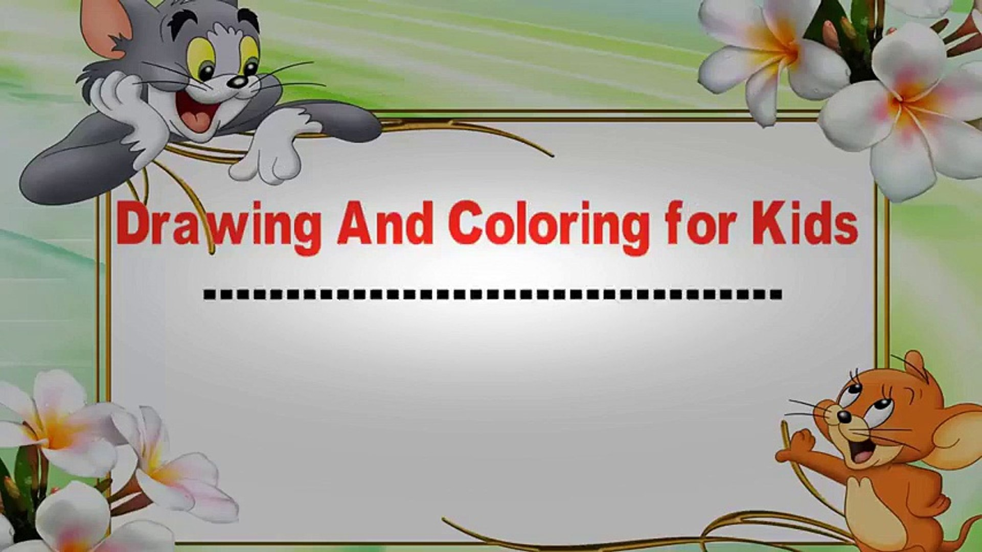 How To Draw Cute Birds Kids Learning Color With Animals Coloring Pages Videos For Children Educational Child Channel Video Dailymotion