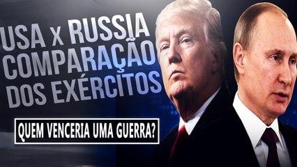 USA x RUSSIA - QUEM TEM O EXÉRCITO MAIS FORTE? COMPARANDO OS PODERES BÉLICOS