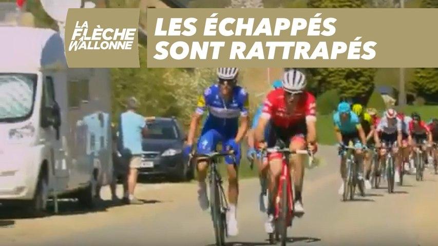 Les échappés sont rattrapés - La Flèche Wallonne 2018