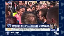 """""""Je vous le dis les yeux dans les yeux"""" : échange tendu entre Emmanuel Macron et des cheminots"""
