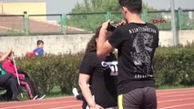 Türkiye Görme Engelliler Spor Federasyonu Atletizm Türkiye Şampiyonası Bursa'da Başladı