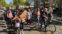 Logement: manifestation de soutien aux migrants