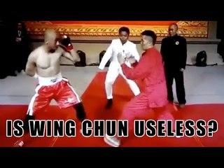 Wing Chun vs MMA is Wing Chun useless?