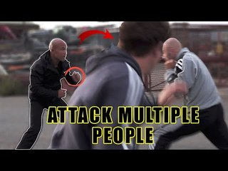 How to attack multiple people at once