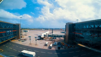 Timelapse sur l'aéroport de Bombay