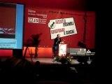 Hollande au congrès MJS