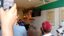 Huy: la Flèche Wallonne au Mur Café