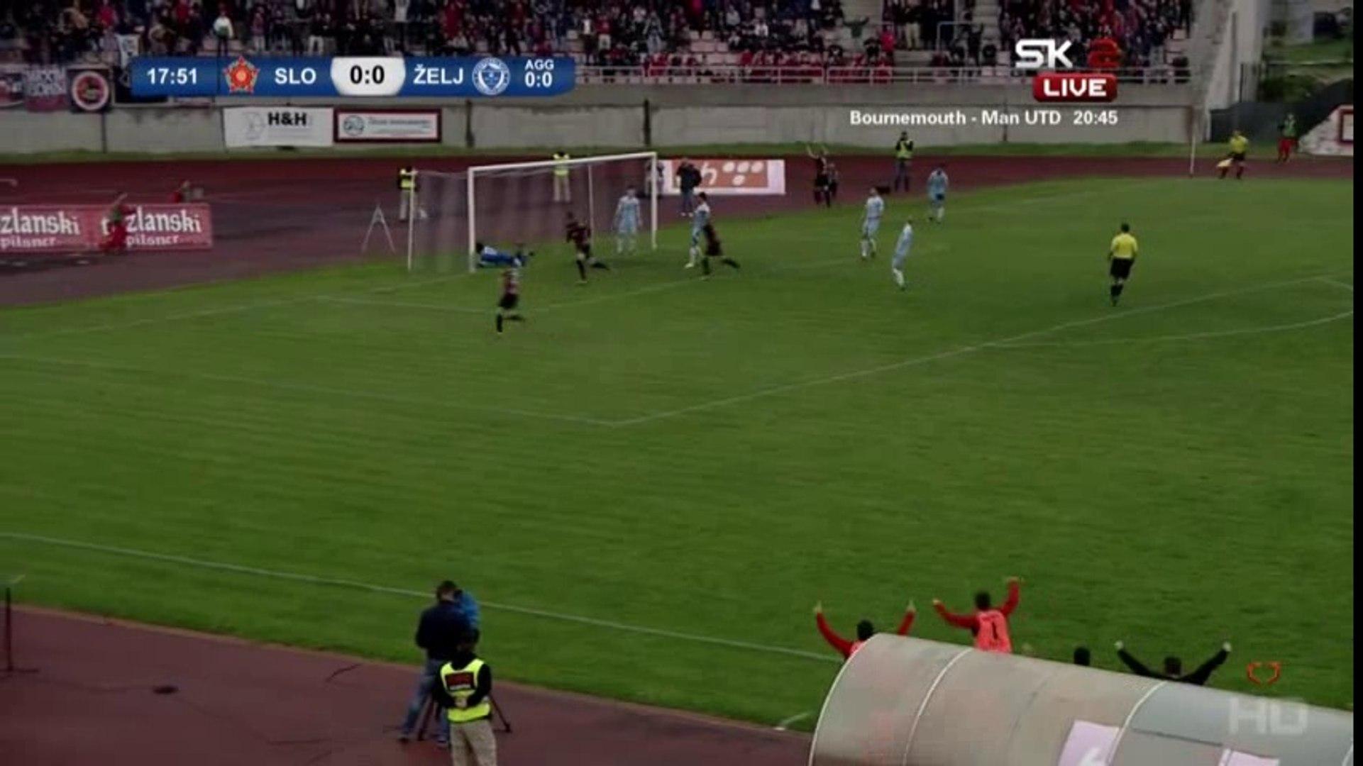 FK Sloboda - FK Željezničar 1:4 (0:0) [Kup] [Golovi]