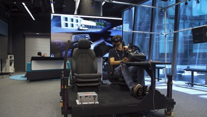 Mixed Reality Experience at BMW
