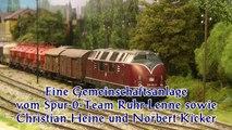 Modelleisenbahn in Spur 0 vom Spur-O-Team Ruhr-Lenne als Modulanlage - Ein Video von Pennula für alle Freunde von Modellbahnen und Modelleisenbahnen