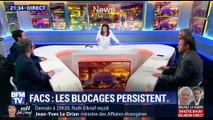 Facs: les blocages persistent