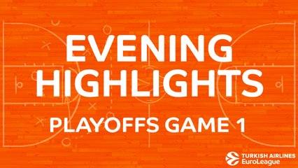 Tadim Evening Highlights: Playoffs, Game 1 - Wednesday