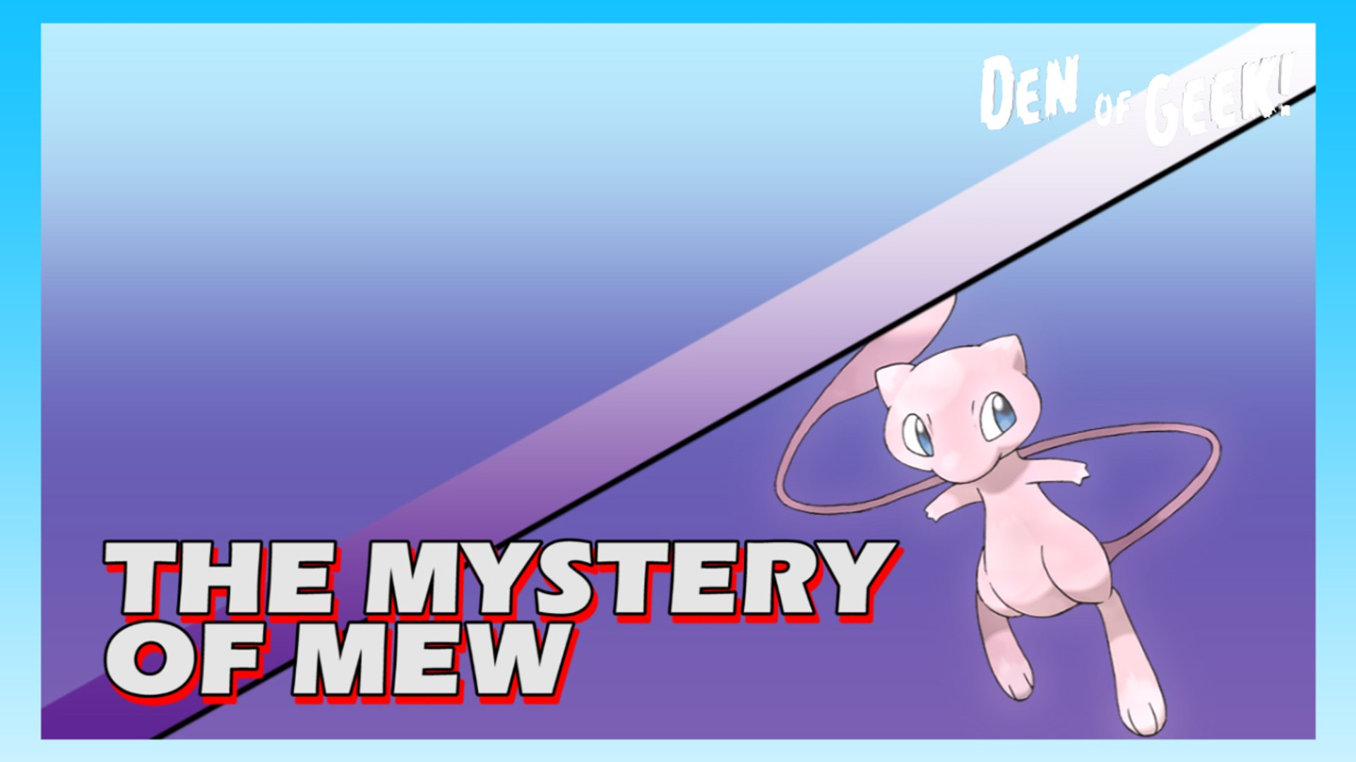 Old School Cool The Mystery Of Mew Video Dailymotion