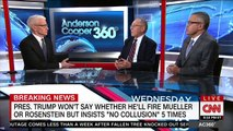 CNN's Toobin lays into pro-Trump lawyer Alan Dershowitz for saying president 'obviously' wants to end the Russia probe
