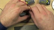 Batería y montaje de motores para la araña | Ingeniería eléctrica | Khan Academy en Español
