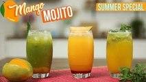 3 Varities of Mango Mojito Recipe | How to Make the Perfect Mojito Cocktail | Summer Cooler | Varun