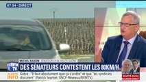 """""""On n'a pas attendu le gouvernement pour mettre des zones à 70 km/h"""", le sénateur LR Michel Raison monte au créneau contre les routes à 80 km/h"""
