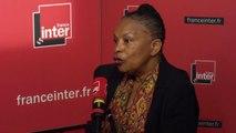"""Christiane Taubira : """"Les Français savent qu'ils se sont construits par les luttes sociales, elles ont une place extrêmement importante"""""""