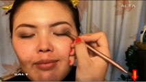 vidéo maquillage yeux yeux yeux Fille