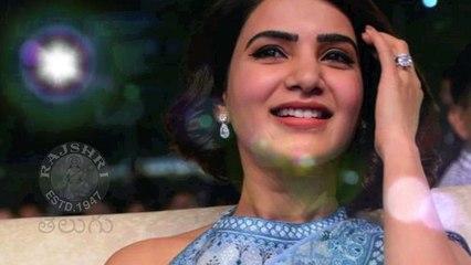 Actress Samantha Akkineni Looks Gorgeous At Rangasthalam Success Meet Photos