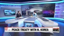 Discussions over establishing peace treaty with N. Korea