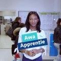 Awa  - Apprentie en technique de commercialisation