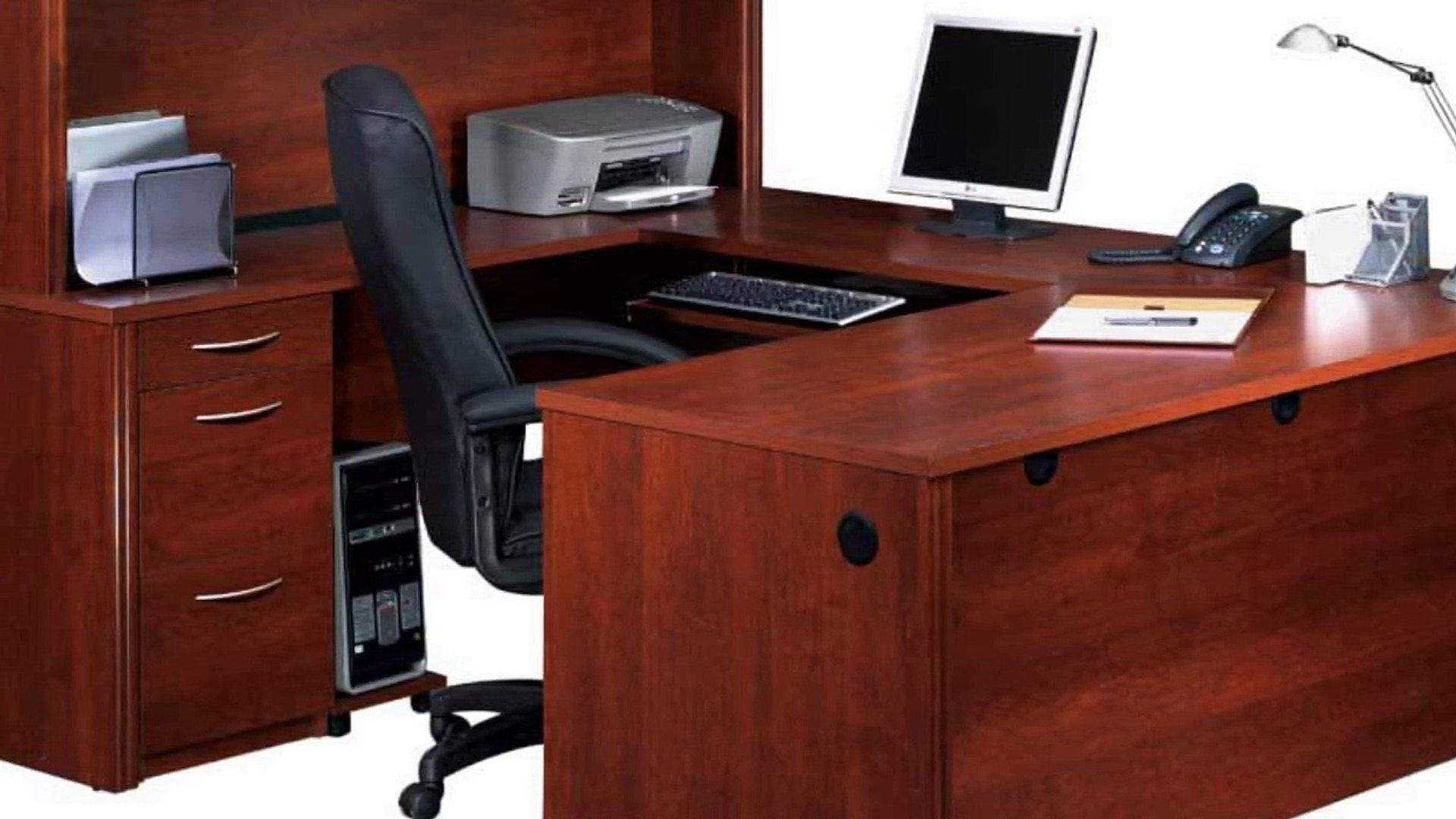 Fabulous Home Office Computer Desk And Hutch Furniture Download Free Architecture Designs Grimeyleaguecom