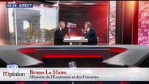 Bruno Le Maire – Grèves: «Je ne crois pas à la convergence des luttes»