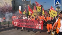 Manifestation jeudi 19 avril à Cherbourg