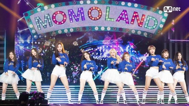KCON 2018 JAPAN×M COUNTDOWN 모모랜드(MOMOLAND) _ INTRO + 뿜뿜(BBoom BBoom)