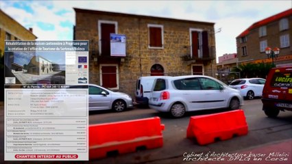 CHANTIER DE L'OFFICE DE TOURISME INTERCOMMUNAL DU SARTENAIS VALINCO TARAVO