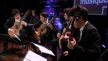 Bartok / arrangement Quatuor Eclisses :  Six Danses populaires roumaines   I. Danse du bâton   II. Danse de la ceinture   III. Trépigneuse   IV. Danse de ceux de Bucium   V. Polka roumaine   VI. Danse précipitée