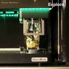 Une machine pour réaliser vos cocktails super rapidement