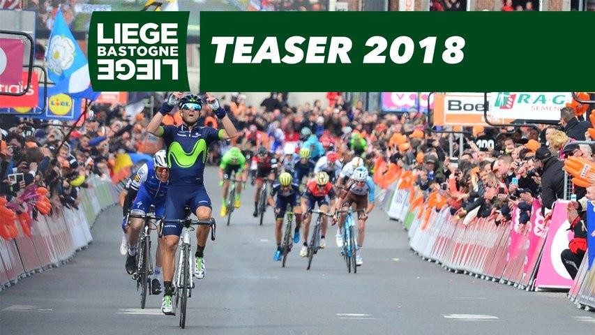 Liège-Bastogne-Liège 2018 - Official Teaser